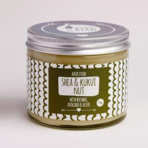 Laughing Bird Shea & Kukui Nut Hair Food (with Avocado, Olive & Beeswax) 250ml