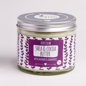 Laughing Bird Shea & Cocoa Butter Body Cream (with Lavender & Chamomile) 250ml