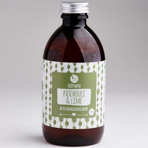 Laughing Bird Patchouli & Lime Body Wash (with Frankincense Water) 300ml