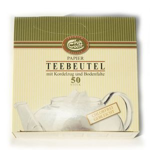 Cha Cult Premium Chlorine & Bleach Free Paper Tea Filters - 50 Pack