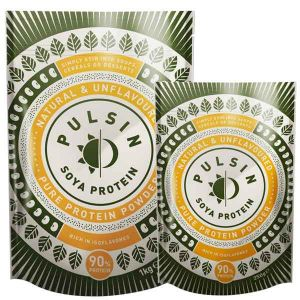 Pulsin' Soya Protein Isolate Powder