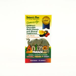 Natures Plus Animal Parade Cherry, Orange, Grape 180 Chewables