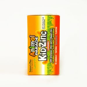 Natures Plus Animal Parade Kid Zinc 90 Lozenges Tangerine Flavour