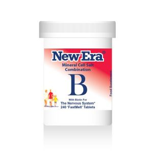 New Era Mineral Cell Salts Combination B 240 'fastmelt' Tablets