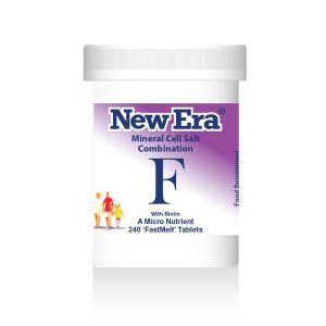 New Era Mineral Cell Salts Combination F 240 'fastmelt' Tablets