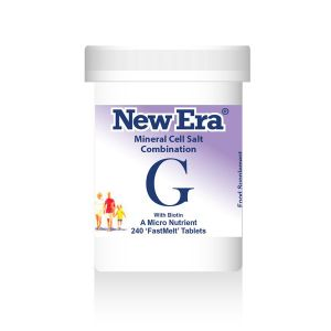 New Era Mineral Cell Salts Combination G 240 'fastmelt' Tablets