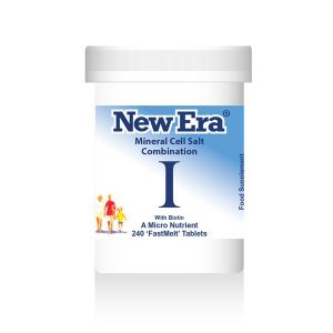 New Era Mineral Cell Salts Combination I 240 'fastmelt' Tablets