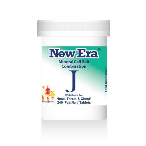 New Era Mineral Cell Salts Combination J 240 'fastmelt' Tablets