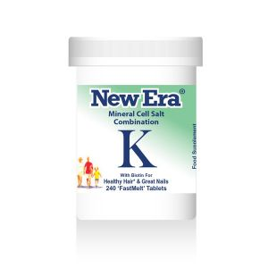 New Era Mineral Cell Salts Combination K 240 'fastmelt' Tablets