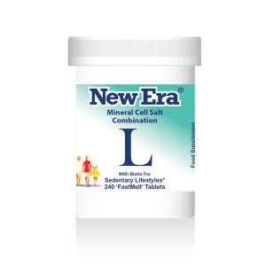 New Era Mineral Cell Salts Combination L 240 'fastmelt' Tablets