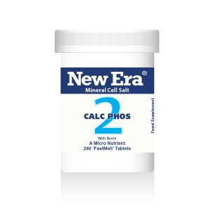 New Era Mineral Cell Salts No.2 Calc Phos (calcium Phosphate) 240 'fastmelt' Tablets