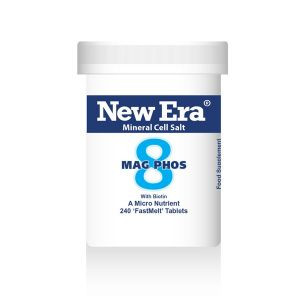 New Era Mineral Cell Salts No.8 Mag Phos (magnesium Phosphate) 240 'fastmelt' Tablets