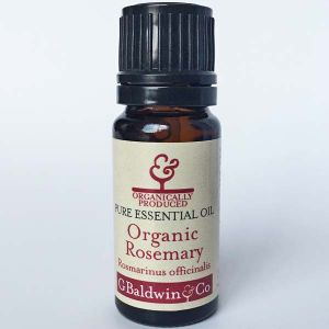 Baldwins Rosemary Organic (rosmarinus Officinalis) Essential Oil