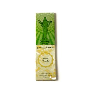 Pure Incense Green Champa (10 Grams)