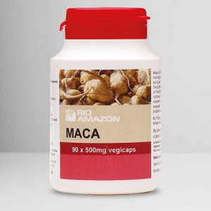 Rio Amazon Maca 120 Vegetarian Capsules
