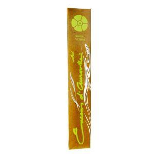 Encens D'auroville Sandal Vetiver 10 Incense Sticks