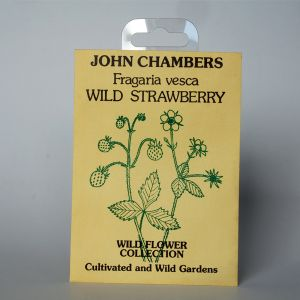 John Chambers Strawberry Wild Herb Seeds Packet