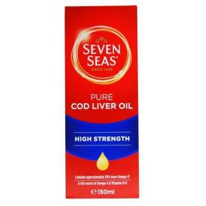Seven Seas Pure Cod Liver Oil Liquid