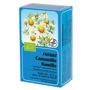 Salus House Organic Chamomile Flower Tea Bags (15 Bags)