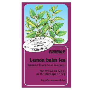 Salus House Organic Lemon Balm Tea Bags (15 Bags)
