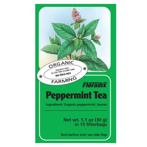 Salus House Organic Peppermint Tea Bags (15 Bags)