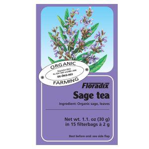 Salus House Organic Sage Tea Bags (15 Bags)