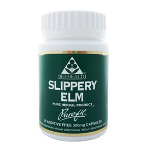 Bio-health Slippery Elm 300mg 60 Vegetarian Capsules
