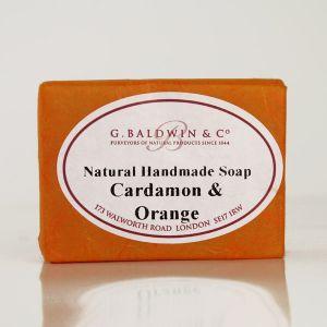Baldwins Luxury Handmade Cardamon And Orange Soap 110g