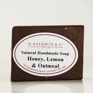 Baldwins Luxury Handmade Honey, Lemon And Oatmeal Soap 110g