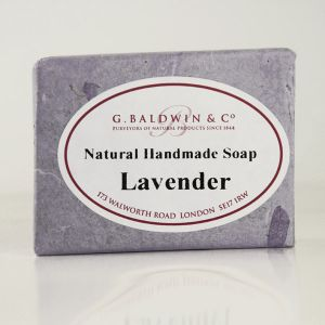 Baldwins Luxury Handmade Lavender Soap 110g