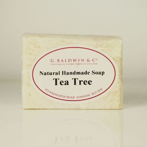 Baldwins Luxury Handmade Tea Tree Soap 110g