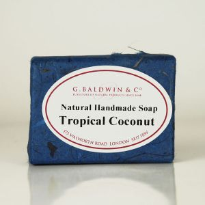 Baldwins Luxury Handmade Tropical Coconut Shampoo Soap 110g