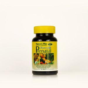 Natures Plus Prenatal Multivitamin & Mineral 90 Tablets