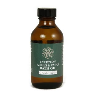 Baldwins Synergy Everyday Aches & Pains Bath Oil