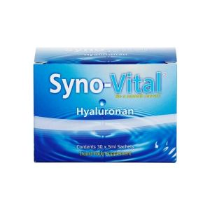 Syno-vital 100% Pure Hyaluronic Acid 30 X 5ml Sachets