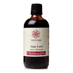 Baldwins Sage Leaf (salvia Officinalis) Herbal Tincture