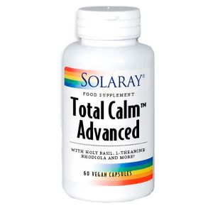 Solaray Total Calm Advanced 60 Vegetable Capsules