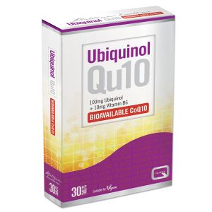 Quest Ubiquinol (100mg Ubiquinol + 10mg Vitamin B6) 30 Vegan Tablets