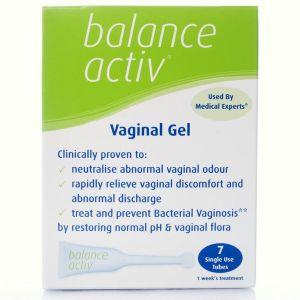 Balance Active Vaginal Gel 7 Single Use Tubes