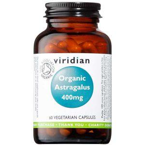 Viridian Organic Astragalus Root 400mg