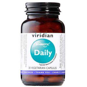 Viridian Synbiotic Daily 30 Vegetarian Capsules