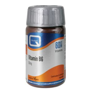 Quest Vitamin B6 50mg