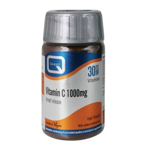 Quest Vitamin C 1000mg Timed Release 180 Tablets For The Price Of 120 Tablets
