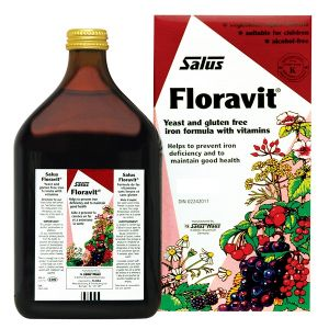Salus Floravital Liquid Iron Formula 500ml (yeast And Gluten Free)