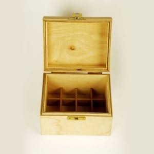 Baldwins Wooden Box 12 X 10ml