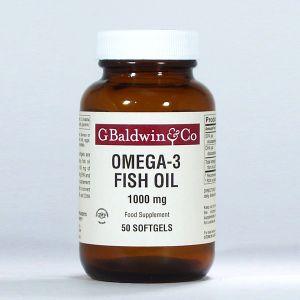 Baldwins Omega-3 Fish Oil Epa & Dha 1000mg