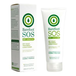 Barefoot Sos Dry + Sensitive Scalp Treatment Conditioner 200ml