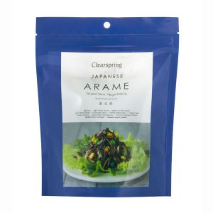 Clearspring Arame Dried Sea Vegetable (wild Harvested) 50g