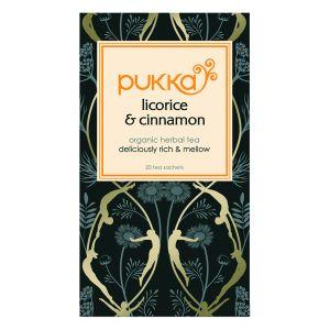 Pukka Liquorice & Cinnamon Tea (20 Sachets)