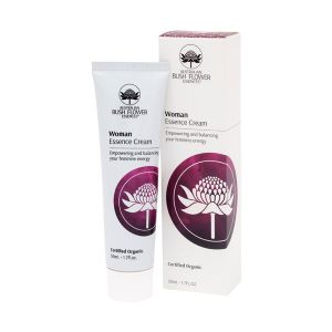 Australian Bush Flower Essences Organic Woman Moisturiser 50ml